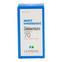 Gelsemium complexe n°70 solution buvable 30ml