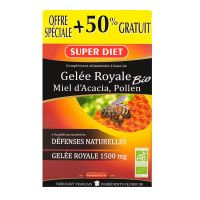 Gelée royale 1500mg bio 30x15ml