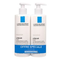 Lipikar lait anti-dessèchement 2x400ml