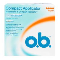 Compact 16 tampons avec applicateurs - super