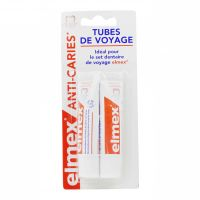 Dentifrice anti-caries 2x12ml format voyage