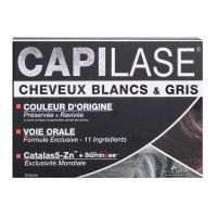 Capilase cheveux blancs 30 capsules