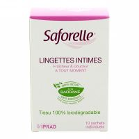 10 lingettes intimes sachet individuel
