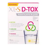 D-tox agrumes 8 sticks