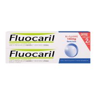Dentifrice bi-fluoré gencives 2x75ml
