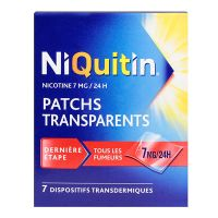 Patchs transparents 7mg