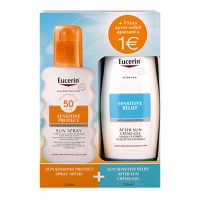 Coffret Sensitive Protect spray SPF50+ 200ml