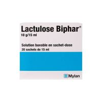 Lactulose biaphar 10g / 15ml 20 sachets