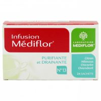 Infusion n°13 drainante 24 sachets