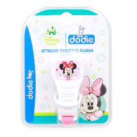 Attache-sucette ruban Disney - Minnie