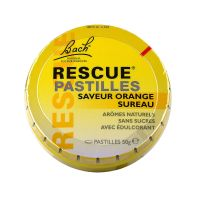 Rescue pastilles orange sureau 50g
