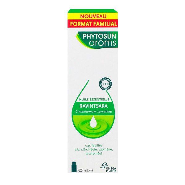 L 39 huile essentielle de ravintsara phytosun aroms est utilis e en cas d 39 herp s zona grippe - Sinusite huile essentielle ravintsara ...