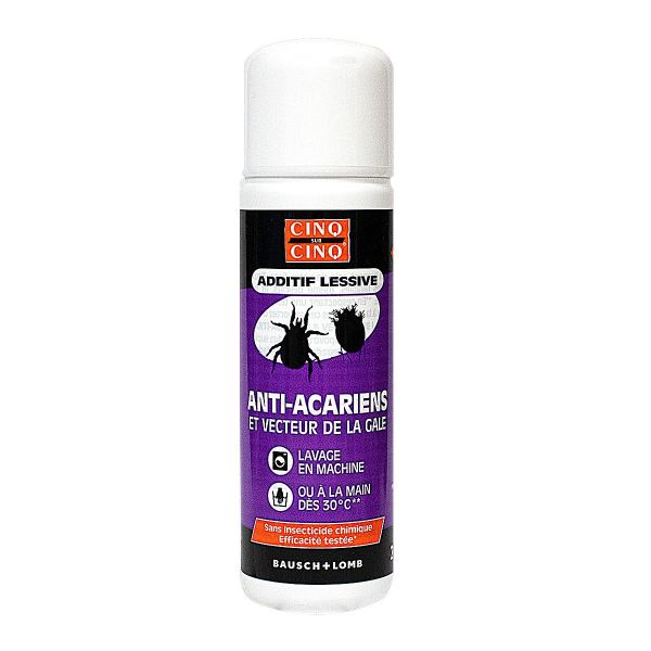 Additif lessive anti-acariens 250ml