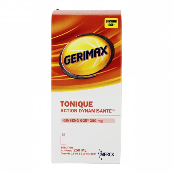 Tonique solution buvable 250ml