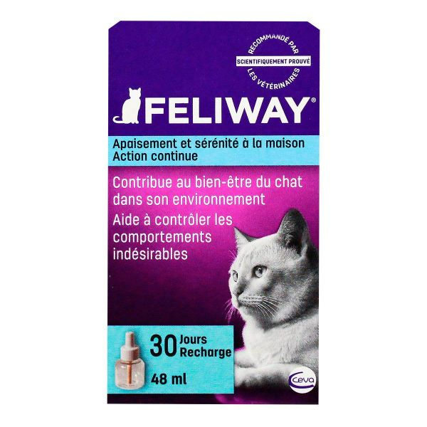 Chat recharge 30 jours 48ml