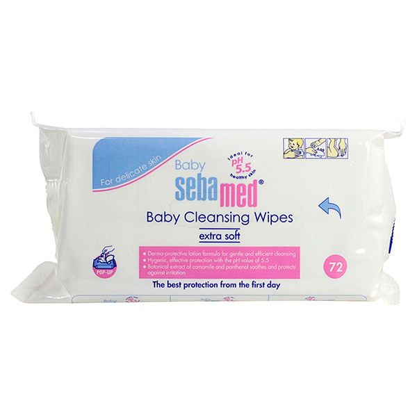 Baby Cleansing Wipes lingettes