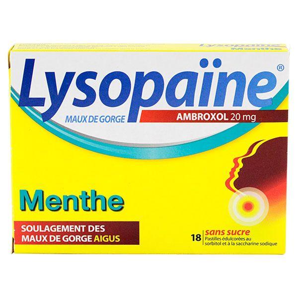 lysopaine menthe pastilles est un m dicament utilis pour soulager les maux de gorge aigus. Black Bedroom Furniture Sets. Home Design Ideas