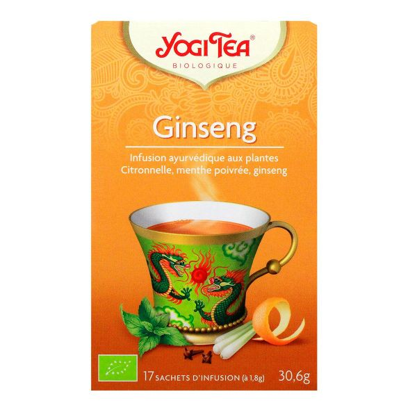 17 infusions ginseng
