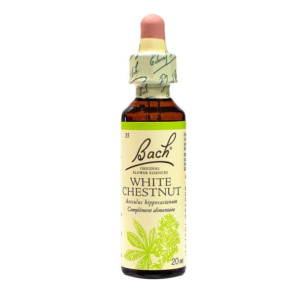 Bach white chesnut n°35 20ml
