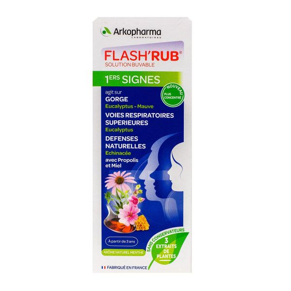 Flash'Rub nez et gorge 140ml