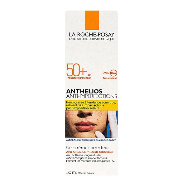 Anthelios anti-imperfections gel-crème SPF50+ 50ml