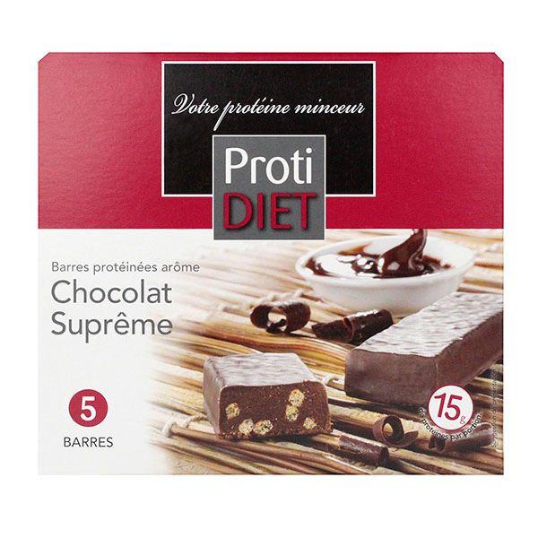 proti diet barres protéinées arôme chocolat suprême