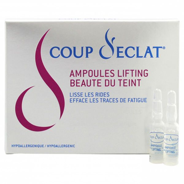 Ampoules lifting beauté 12x1ml