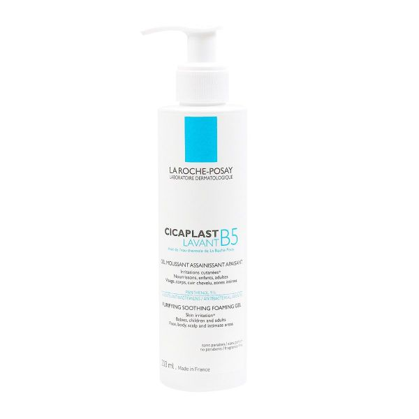 Cicaplast B5 gel moussant 200ml