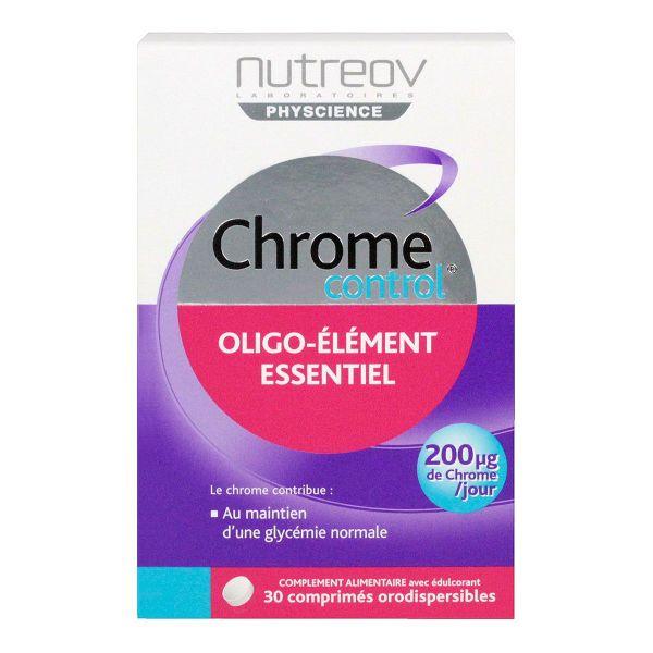 le complément alimentaire chrome control est un oligo