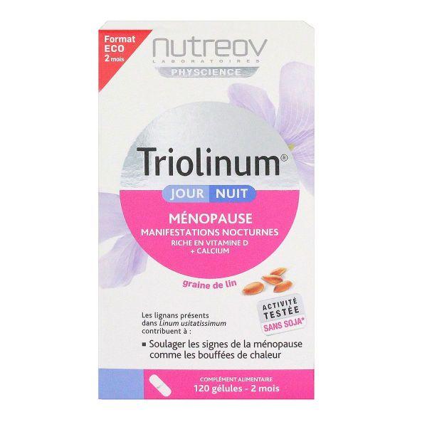 triolinum ménopause jour/nuit sans hormone améliore le