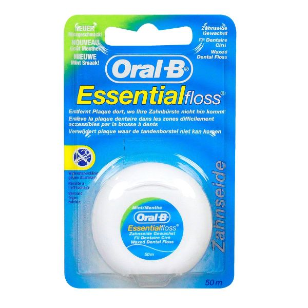 Fil dentaire Essential Floss menthe 50m
