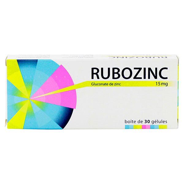 rubozinc est un médicament utilisé en cas d'acné de