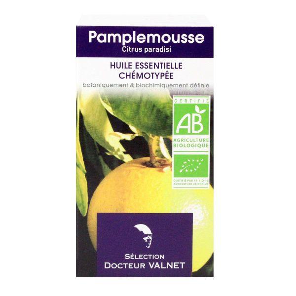 l 39 huile essentielle de pamplemousse bio docteur valnet est utilis e pour ses propri t s. Black Bedroom Furniture Sets. Home Design Ideas