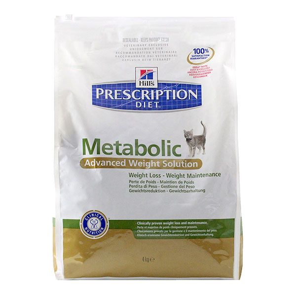 Chat Metabolic Advanced Weight 4kg