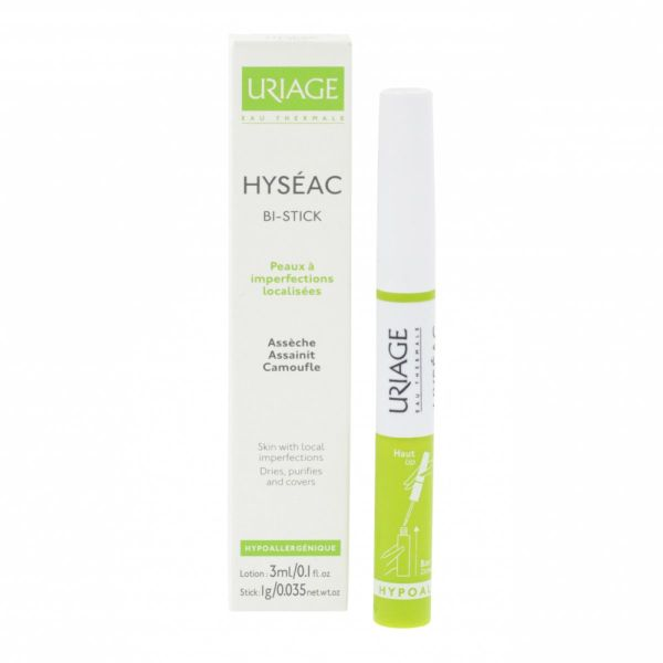 Hyséac bi-stick lotion 3ml + stick 1g