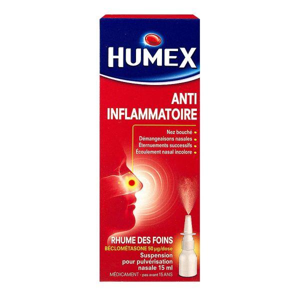 humex rhume des foins spray est utilis en cas de rhinites allergiques d es g n ralement au. Black Bedroom Furniture Sets. Home Design Ideas
