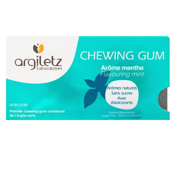 12 chewing-gums - Arôme menthe