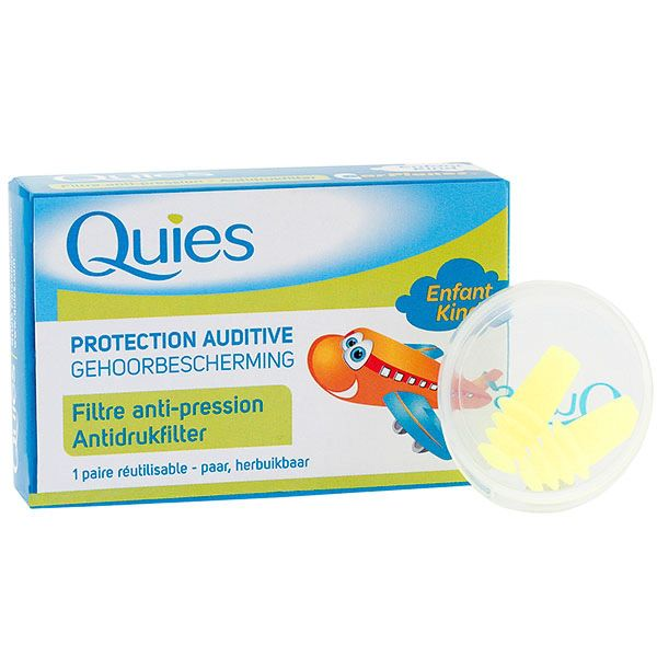 1 paire Earplanes anti-pression enfant
